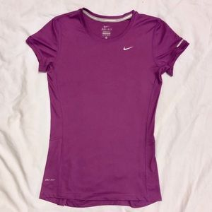 NWOT Nike Short Sleeve Miler Training Top Size XS